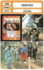 CARTE FICHE CINEMA 1998  GADJO DILO  Romain Duris Tony Gatlif