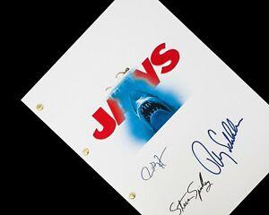 Jaws Film Script Screenplay Reprint Shark 70s Roy Scheider Richard Dreyfuss