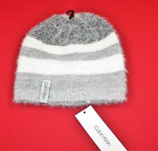 22a4def84d2 CALVIN KLEIN WOMEN S FUZZY COLORBLOCK SLOUCHY BEANIE ONE SIZE WINTER HAT NEW