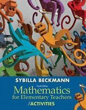 Mathematics for Elementary Teachers with Activities by Sybilla Beckmann (2012)