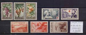 ! Algeria 1949-1955.   Stamp. YT#279/2814,316/317,A11,13,14. €50.75!