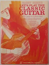 Let's Play The Classic Guitar HARRY RESER REMICK vintage music book
