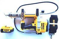 New Dewalt DCGG571 20V Cordless Grease Gun, (1) DCB204 4.0 AH Battery 20 Volt