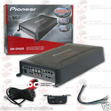 NEW PIONEER GM-D9605 CAR AUDIO 5-CHANNEL AMP AMPLIFIER 1000W RMS