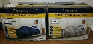 """Pendleton Weighted Blanket For Anxiety & Stress Relief, 48"""" x 72"""", 15lbs Choose"""