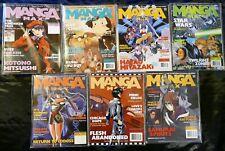 Lot of 7 MANGA MAX Magazine Anime STAR WARS Hayao Miyazaki