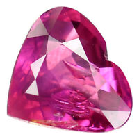 2.07 Ct. Unheated Lustrous Pigeon Blood Red Natural Ruby WITH GLC CERTIFY