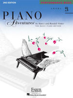 Faber Piano Adventures Level 2A Performance Book 2nd Edition 420176 NEW ! NICE!