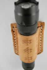 Open Top Flashlight Holster.  Light Holder for most 1'' Lights. Funda Linterna.