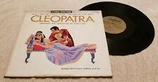 """Cleopatra"" Original Soundtrack by Alex North & Russ Case, 12"" Vinyl Record LP"