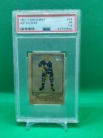 1951 Parkhurst Hockey #74 Joe Klukay Rookie PSA 1.5