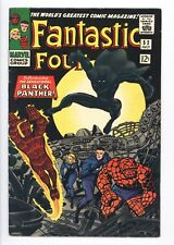 Fantastic Four #52 Vol 1 Looks Near Perfect High Grade 1st App of Black Panther