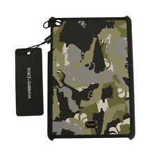 NEW $350 DOLCE & GABBANA Tablet Fitted Case Leather Military Print iPad mini