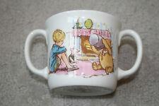 Royal Doulton Classic Pooh 2 Handle Toddler Cup/Mug Porcelain