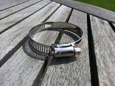 Confezione da 10 in Acciaio Inox, Clip Tubo flessibile, tipo Jubilee Clip, 40mm a 64mm.