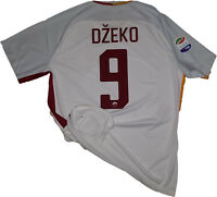 maglia roma Dzeko Serie A 2018 NIKE no WORN ISSUED SHIRT away player