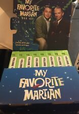My Favorite Martian Box Set Color VHS Complete Set!!