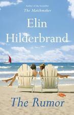 NEW The Rumor, Elin Hilderbrand, Walmart Exclusive, 2015 1st Ed HCDJ / 1st Print