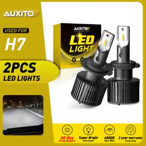 AUXITO H7 LED Headlight Bulb Low Beam for Volkswagen VW Golf GTi Passat MK7 80W