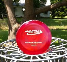 Innova-rare good cond 2010 Penned wPatent#s super flat Champion Destroyer -168g