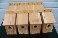 8 Bluebird Bird Houses Nest Box Cedar With Peterson Oval Opening Free Shipping