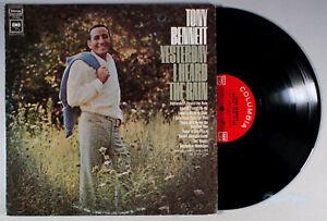 Tony Bennett - Yesterday I Heard the Rain (1968) Vinyl LP •PLAY-GRADED•
