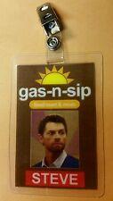 Supernatural ID Badge-Gas-n-sip Steve prop costume cosplay