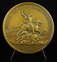 Medal 1950 Louis XIV Battle of Leuze 1691 War de La League D'Augsbourg