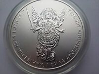 "Ukraine,One Hryvnya, ""Archangel Michael"" 1 oz 999,9 ,Silver 2015 year"