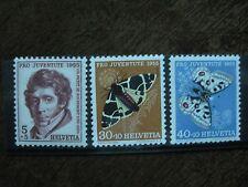Schweiz Mi.-Nr. 618, 621, 622 postfrisch