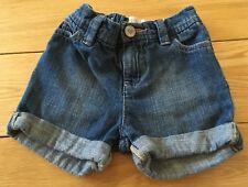 Baby Girls GAP Denim Shorts Size 18-24 Months