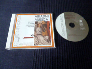 CD Organ Orgue J. Caspar F. Fischer | Schnitger-Orgel Grasberg | Christophorus