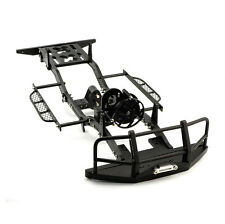 Black Rc Crawler Chassis Kit 1:10 For RC4WD D90 Jeep Wrangler