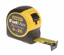 Stanley 033726 Fatmax Tape Measure Blade Armor 8M (26ft) x 32mm Wide 0-33-726