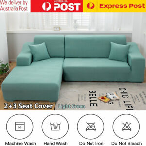 Sofa Covers 2+3 Seater High Stretch Lounge L Shape Cover Protector Couch Cover