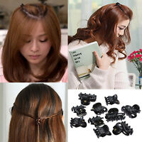 Fashion 10 Mixed Small Plastic Black Hair Clips Hairpin Claws Clamps Popular