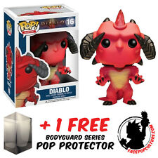 FUNKO POP DIABLO VINYL FIGURE WITH FREE POP PROTECTOR