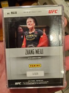 FREE SHIP Panini Instant UFC Main Attractions 1/325 Set - Club Access Only