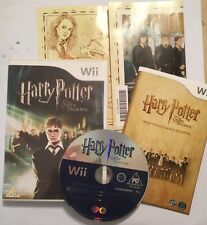 NINTENDO Wii VIDEO GAME VIDEOGAME HARRY POTTER & THE ORDER OF THE PHOENIX PAL