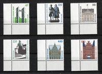 Bund 1934 - 1938 + 1932 postfrisch Eckrand Ecke 3 BRD SWK Sehenswürdigkeiten MNH