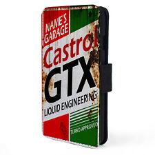 Personalised CASTROL GTX OIL Garage iPhone Case Vintage Retro Mechanic Dad  OC05