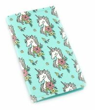 2018 Slimline Planner Diary, 2 Weeks to an Opening - Mint Floral Unicorn