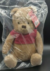 "Christopher Robin Movie Winnie The Pooh Bear 14"" NWT  Plush Doll JustPlay Disney"