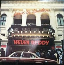 HELEN REDDY Live In London Double Live Album Released 1978 Vinyl/Record USA