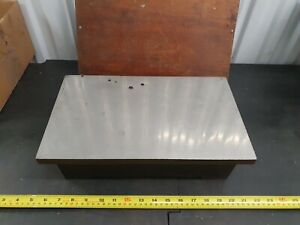 """Vintage Engineers Surface Plate Cast Iron/Steel, No Makers Name Approx 9"""" x 15"""""""