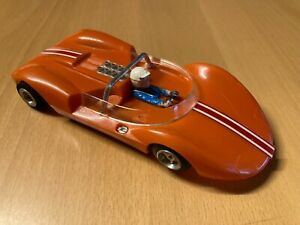 Cox Cucaracha orange body with black chassis and rewind 16D motor