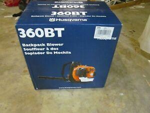 Husqvarna 360BT Backpack Blower ( LOT A209)