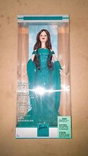 ^ Mattel May Emerald Birthstone Barbie Doll Unopened in Original Box