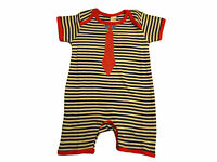 Baby Boys Girls Romper Playsuit Summer Outfit Babygrow Short Sleeves All In One