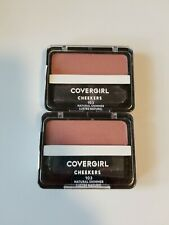 2 CoverGirl Cheekers Blendable 103 Natural Shimmer Blush .12oz
